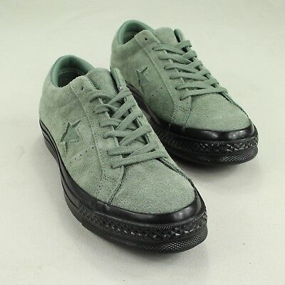 Converse One Star Pro Ox Trainers Shoe in Utility Green in