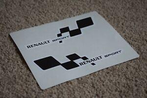 Renault-Sport-Motorsport-racing-car-F1-GP-RALLYE-ALPINE-CLIO-autocollant-autocollant-50-mm