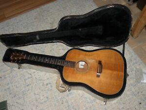 Taylor Vintage Guitar Robert Signed 1992 Model 410 Mahogany Martin PU Instrument