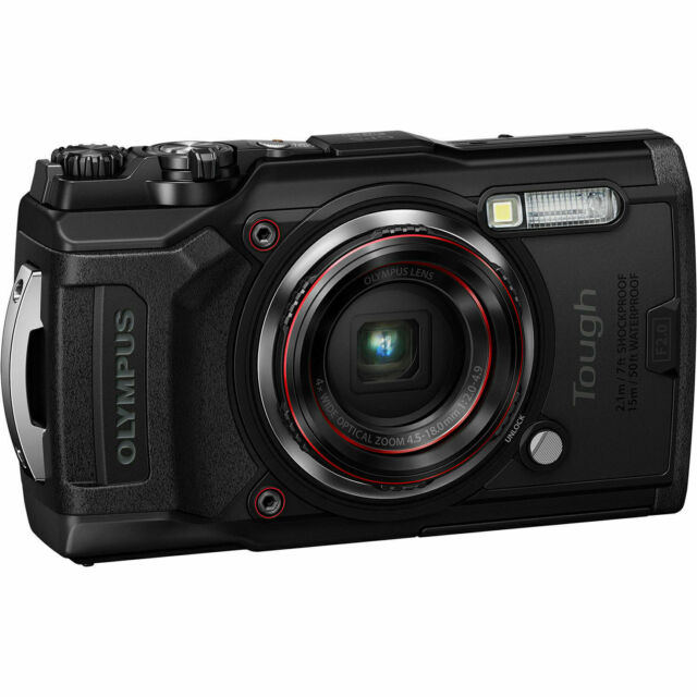 Olympus Tough TG-6 Waterproof Digital Camera - Black New
