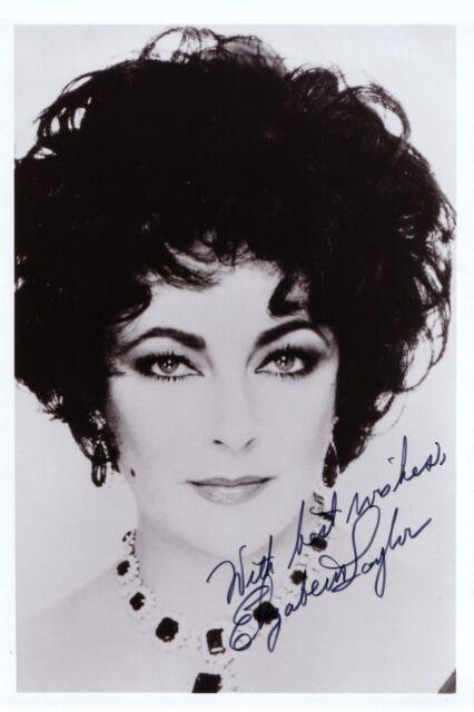 Elizabeth Taylor ++Autogramm++ ++Hollywood Legende++4