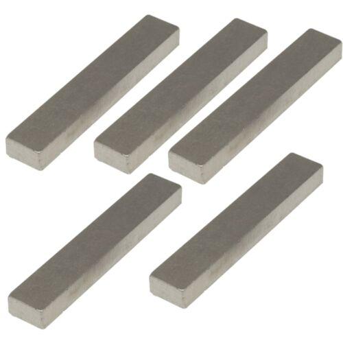 5 x Reed switch mini relay Magnets 12.7 x 3.2 x 1.6 mm