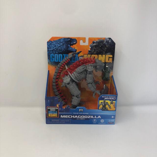 """Playmates Monsterverse Godzilla vs Kong 15cm 6"""" Mechagodzilla ULTRA RARE - FAST!"""