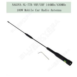 Nagoya-NL-77B-Dual-Band-144-430MHz-VHF-UHF-Car-Mobile-Radios-Station-Antenna