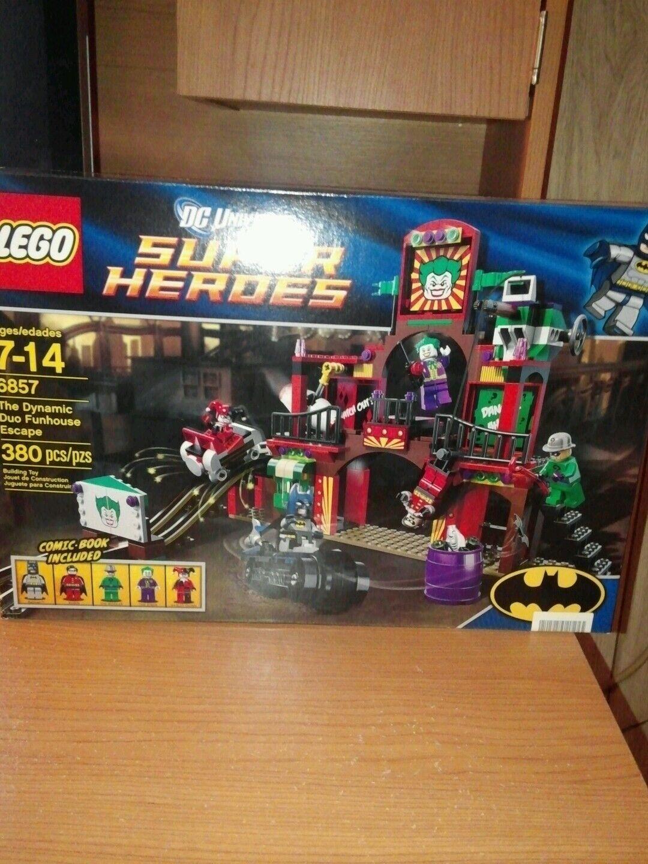Lego 6857 Super Super Super Heroes The Dynamic Duo Funhouse Escape   NEW  NIB dd2082