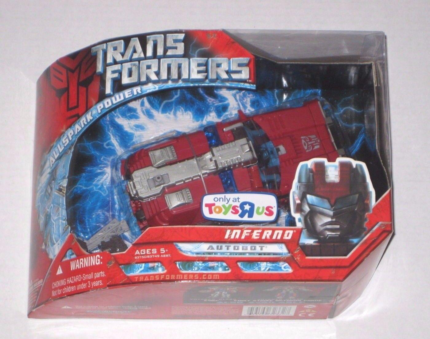 ventas en linea Transformers Película 2007 Inferno Inferno Inferno Menta en Caja Sellada Nuevo Sellado Voyager Juguetes R Us TRU Allspark  Precio por piso