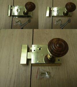 Rim Lock Door Knob Handle Sets Bathroom Bedroom Snib latch ...