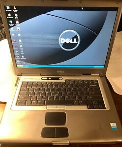 Vintage-Dell-Latitude-D800-WinXP-Pro-1-8Ghz-2GB-RAM-120GB-HD-DVD-CDRW-SHIPS-FREE