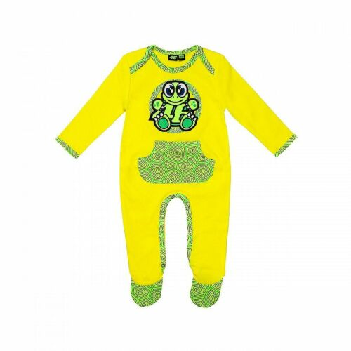 Vrkoa 263901 VR46 Offiziell Valentino Rossi Schildkröte Baby Overall Anzug