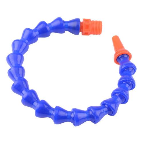 "Boquilla redonda 12x 1//2/"" Hilos De Plástico Flexible de Agua Aceite Refrigerante Manguera De Tubería"
