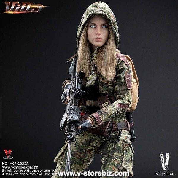 1 6  Scale Verycool VCF-2035B Villa soeur fleur - (Jungle Python Stripe)  offre spéciale