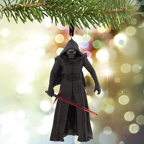 Disney Star Wars Vii Force Awakens Kylo Ren Christmas Tree Ornament Collectible Ebay