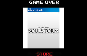 Oddworld Soulstorm Ps4 Playstation 4 Nuovo ITA Videogame Steelbox Day One Ed.