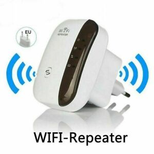 Wifi Repeater 300Mbps Wireless-N 802.11 AP Router Extender Signal Booster Range