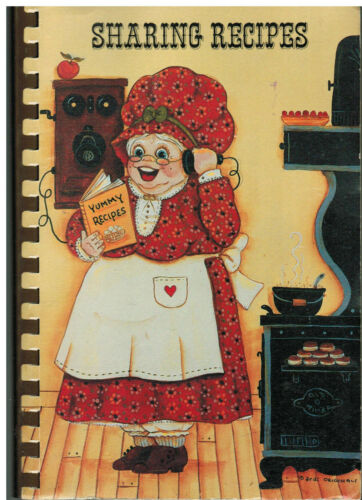 LANSING MI 1987 IMMANUEL COMMUNITY REFORMED CHURCH COOK BOOK SHARING RECIPES