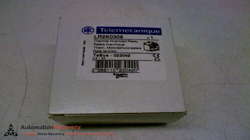 NEW #149469 OMRON LR2K0306 THERMAL OVERLOAD RELAY 600VAC 0.8-1.2A 1NO 1NC
