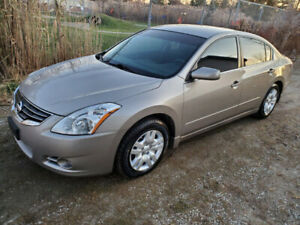 2012 Nissan Altima 2.5 S  Sedan 4D  139000KM