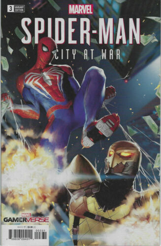Spider-Man City at War #3 1:25 Lim Variant