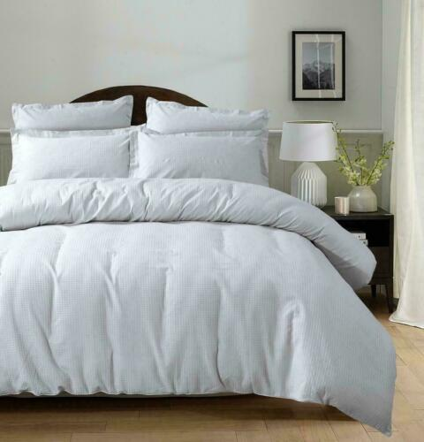 Super soft Top Quality Modern Design 100/% Cotton Luxury WAFFLE Duvet Cover Set