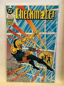 Checkmate-Vol-1-1988-3-VF-1st-Print-DC-Comics