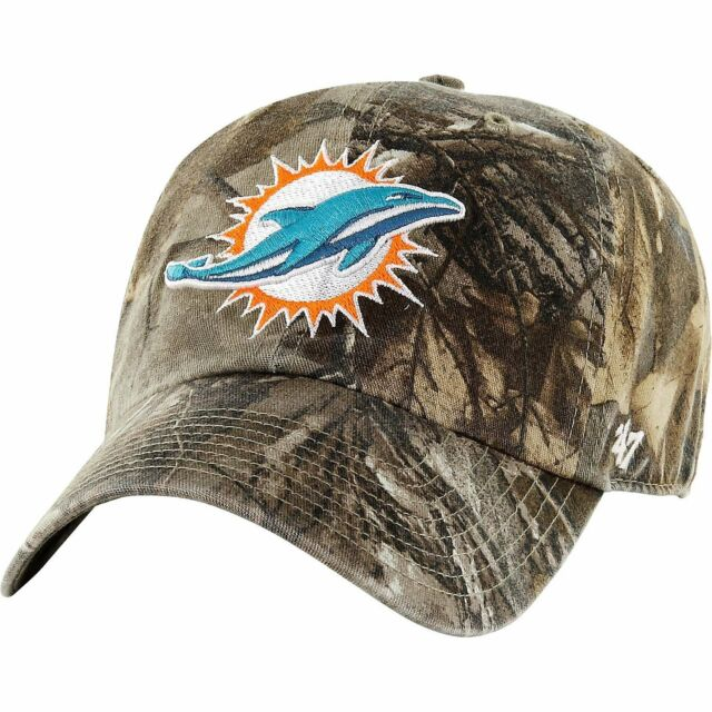get new top design quite nice Miami Dolphins 47 Brand Clean Up Hat Adjustable Cap RealTree for ...
