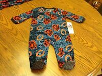 Chicago Bears Nfl Footed Pajamas Size 6-9 Months