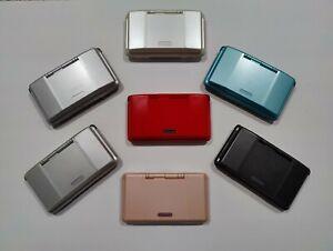 "Nintendo DS NDS original ""fat"" NTR-001 Red Black Silver White Pink CHOOSE COLOR"