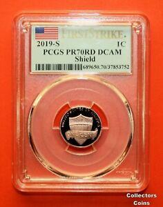 2019-S PCGS PR69 RD DCAM LINCOLN CENT PROOF FIRST STRIKE PR 69