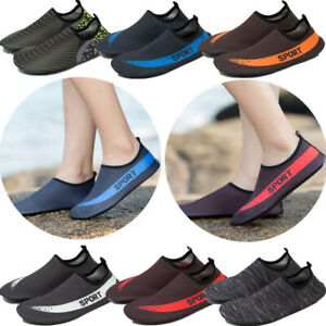 Mens Water Shoes Quick Drying Slip-On Beach Running Shoes ... bf343ef0f