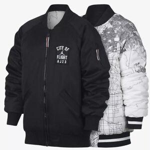 Nike-Jordan-City-of-Flight-Big-Kids-Jacket-Reversible-Bomber-954735-023-New-S