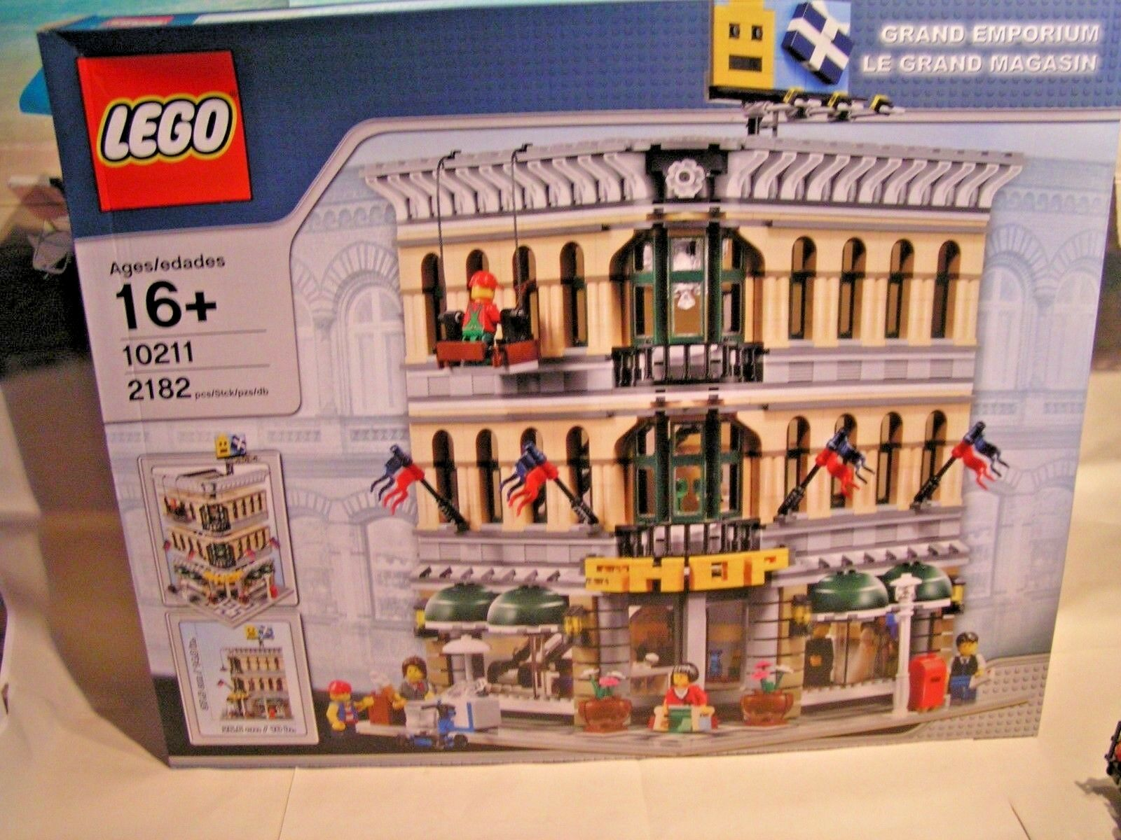 LEGO TOWN  -  GRAND EMPORIUM - LE GRAND MAGASIN  ref. 10211
