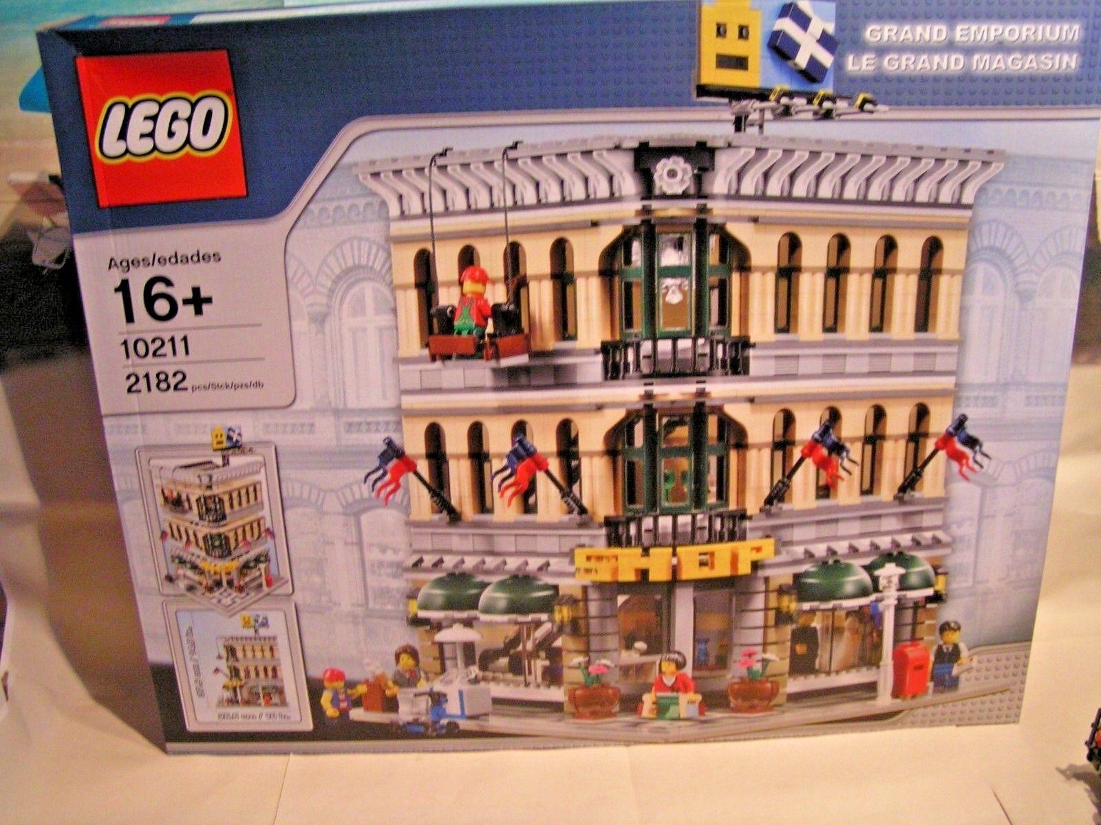 LEGO TOWN  -  GRAND EMPORIUM - LE GRAND MAGASIN  ref. 10211