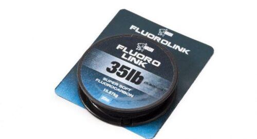 Nash Fluorolink 20m Super Soft Fluorocarbon Fluoro Carbon Vorfachmaterial
