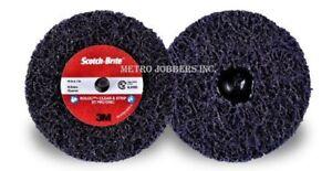 """3m 07470 4/"""" Scotch-brite Roloc Clean And Strip Xt Disc"""
