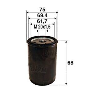 VALEO Oil Filter For FIAT ALFA ROMEO LANCIA OPEL Barchetta Brava II Mpv 7604770