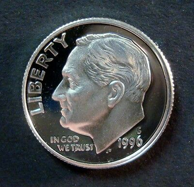 FREE SHIPPING! Gem Cameo 2005-S PROOF 90/% SILVER Roosevelt Dime
