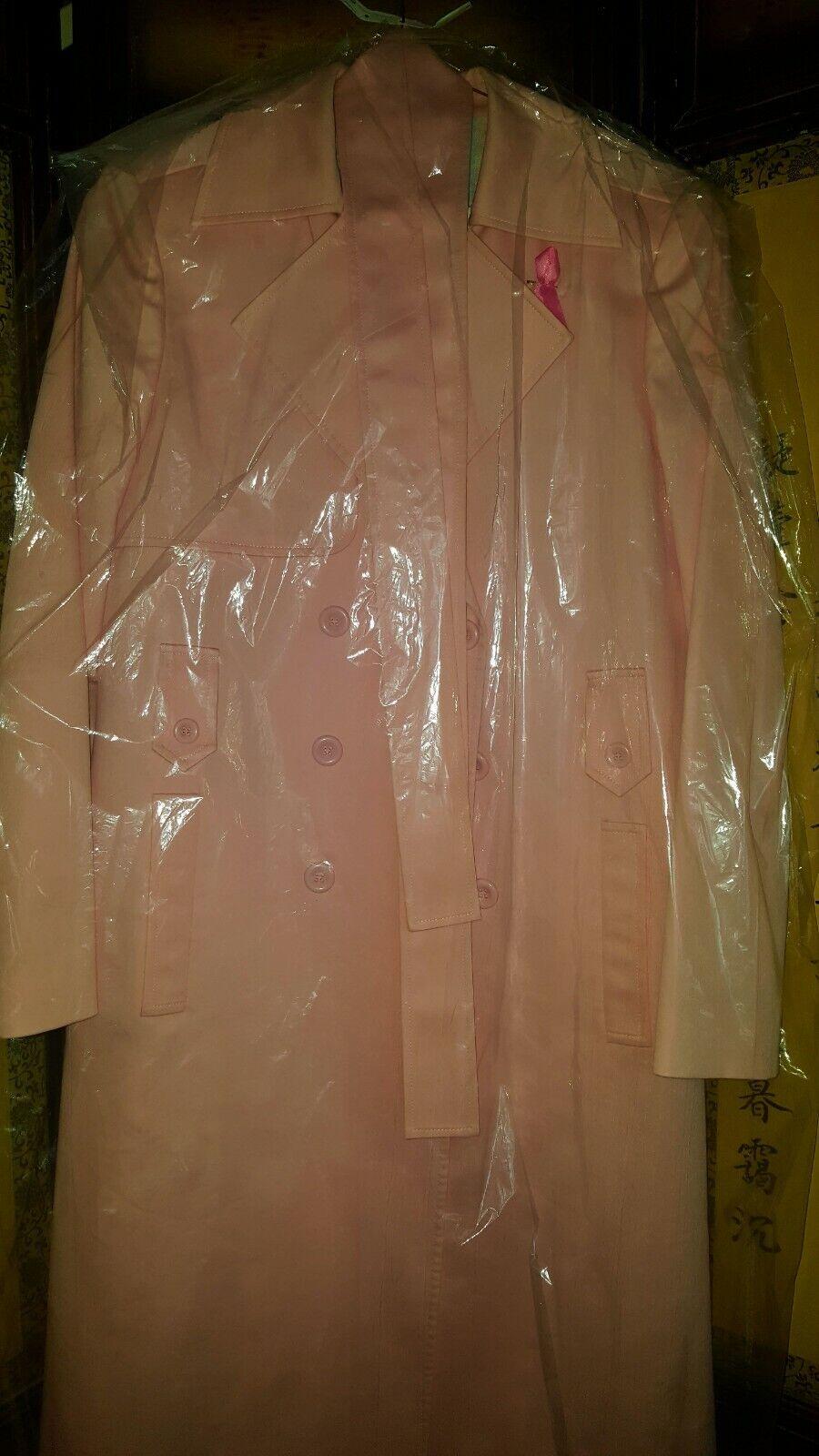 Vintage Tahari Pink Trench Coat - image 4