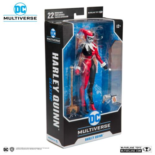 """McFarlane Toys DC Multi-Univers Classique Harley Quinn Renaissance 7/"""" Action Figure"""