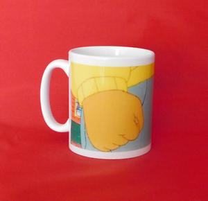 Arthur poing mème tv show inspiré thé tasse de café 10oz