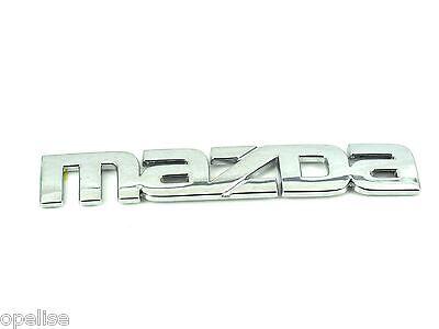 Genuine New MAZDA BOOT BADGE Emblem For Mazda6 6 2007-2010 4DR Saloon Sedan