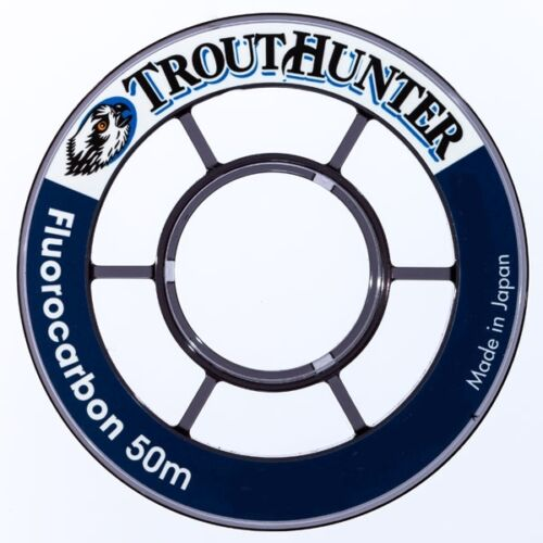TroutHunter Fluorocarbon Tippet 50 M Available in; 3x 4x 4.5x 5x 5.5x 6x 6.5x
