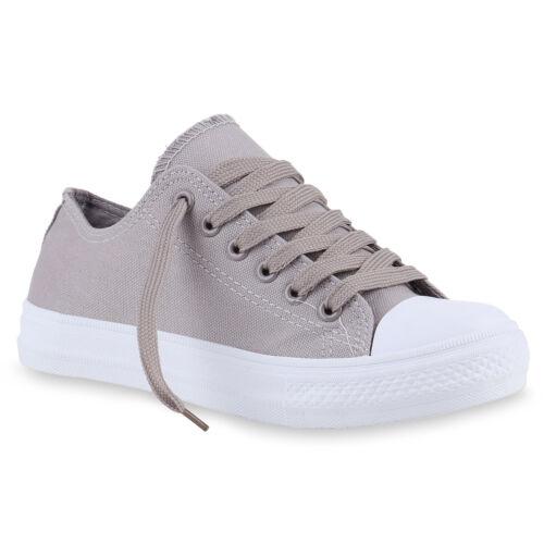Damen Herren Kinder Sneakers Stoffschuhe Sportschuhe Schnürer 816720 Top
