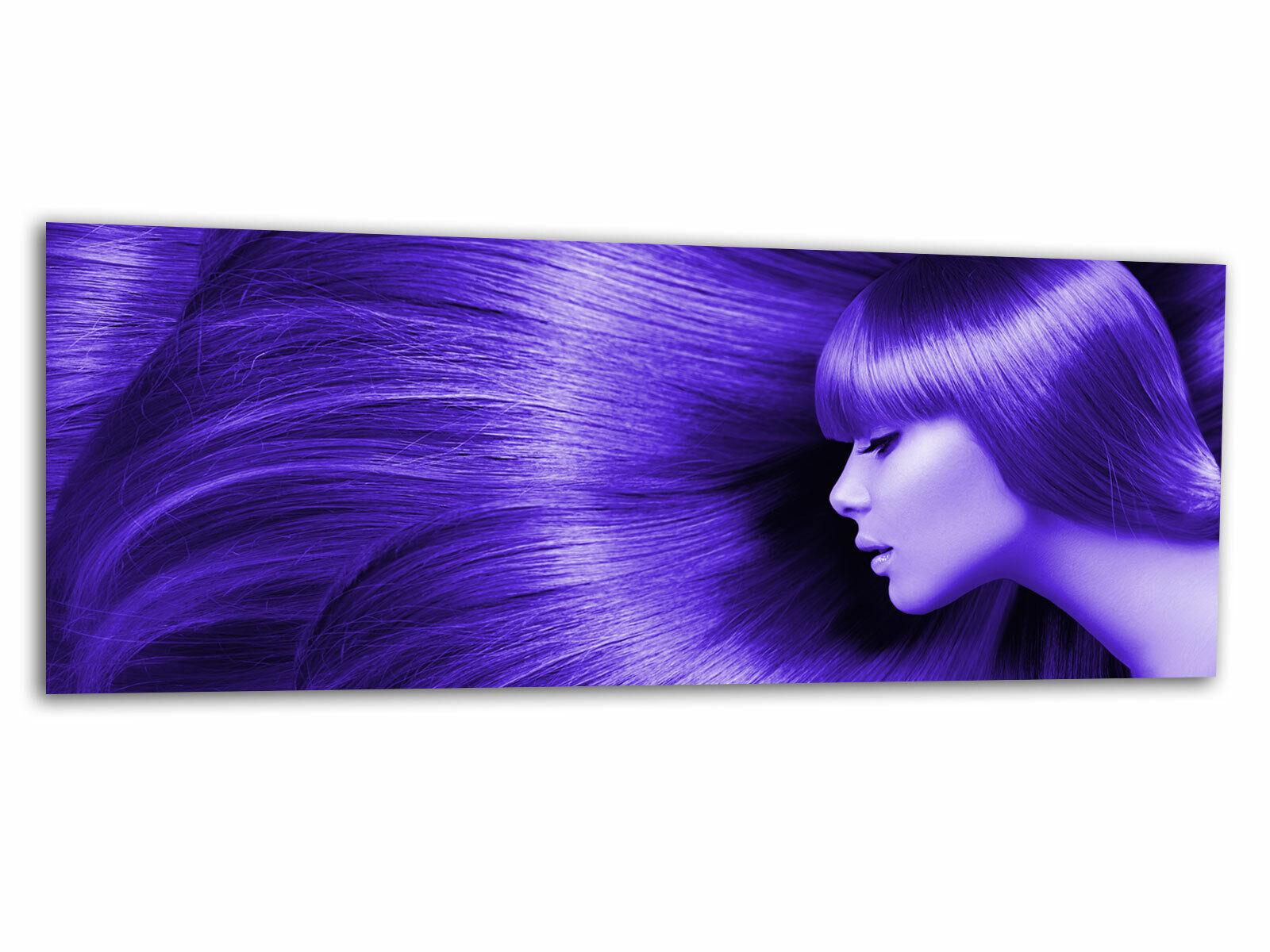 Verre – images la fresque ag312502023 sexy HAIRSTYLE Violet 125 X 50 cm