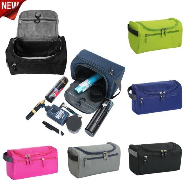 4cda2972b1a4 Travel Wash Bag Men Women Toiletry Organizer Pouch Shaving Cosmetic MakeUp  Case