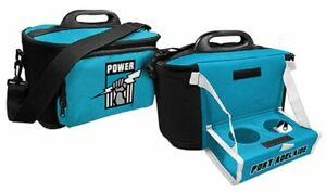 Port-Adelaide-Power-Insulated-Cooler-Bag-with-Tray-Official-AFL-Work-Picnic