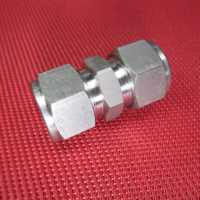 Ham-Let 3002427 Stainless Steel 316 Let-Lok Compression Fitting 1//2 Tube OD Bulkhead