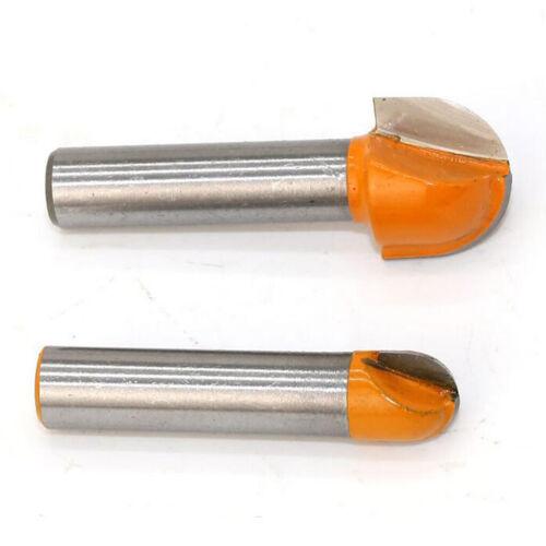 2 Stücke Hohlkehlfräser Nutenfräser Kugelfräser Holzbearbeitung