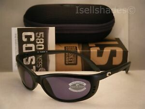 2b8830fc85 Costa Fathom Matte Black w Grey 580P lens NEW Sunglasses (FA11 OGP ...