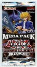 YuGiOh! Legendary Collection 4 Mega-Pack New and Sealed YuGiOh Booster Pack