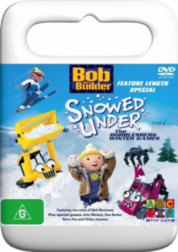 1 of 1 - Bob The Builder - Snowed Under - The Bobblesberg Winter Games (DVD, 2005)